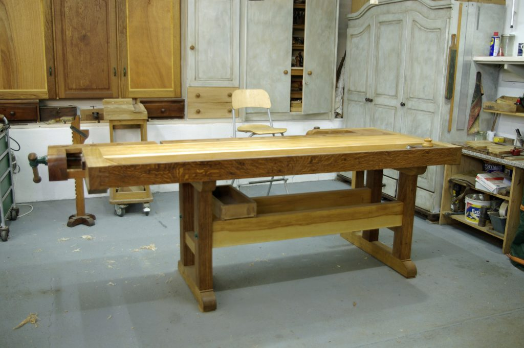 A Traditional Cabinet Makers Bench